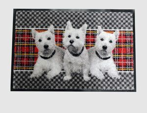 Schmutzfangmatte Hunde