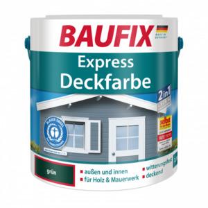 Baufix Express Deckfarbe grün