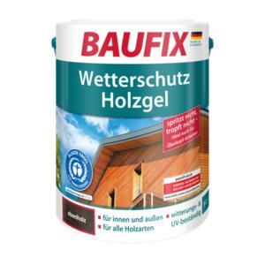 Baufix Wetterschutz-Holzgel Ebenholz