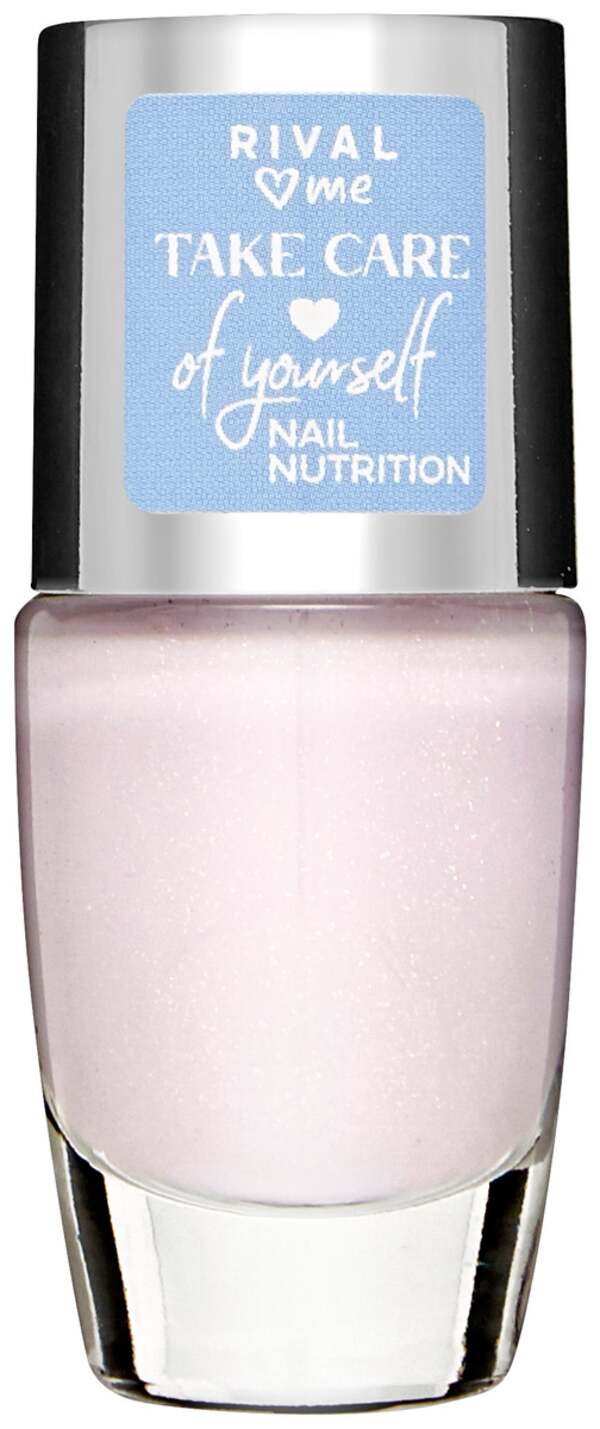 RIVAL loves me Take Care of Yourself Nail Nutrition Polish 01