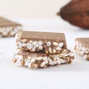 Schokoladen-Puffreis von Hussel, 200g