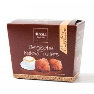 Belgische Kakao Truffets - Cappuccino von Hussel, 250g