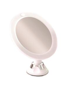 Kosmetikspiegel, beleuchtet, rund, Ø: 16,5 cm