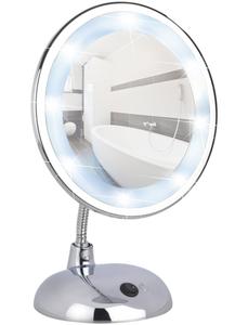 Kosmetikspiegel »Style«, beleuchtet, rund, BxH: 17,5 x 28 cm