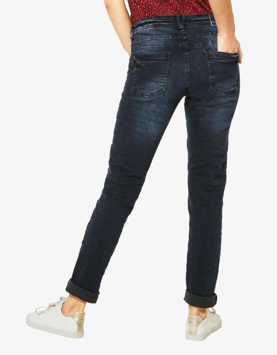 Bild 3 von CECIL - Denim-Jeanshose mit Highlights und Crash-Effekt