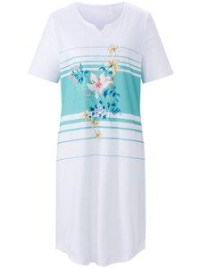 Nachthemd 1/2-Arm Rösch weiss Größe: 36
