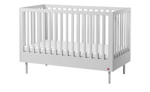 Kinderbett - weiß - 74,8 cm - 98,4 cm - Baby