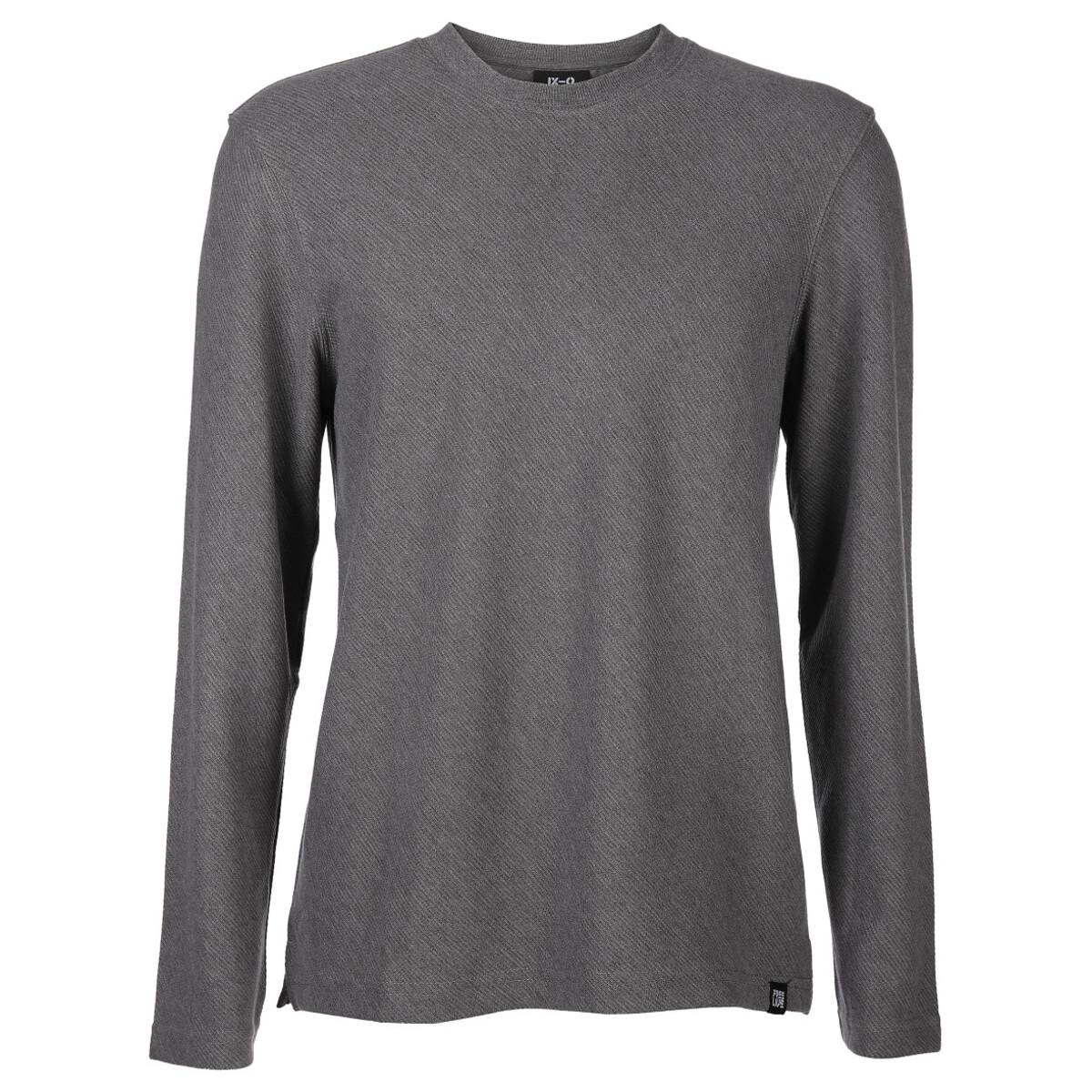 Bild 1 von Herren Sweatshirt in schräger Webstruktur
