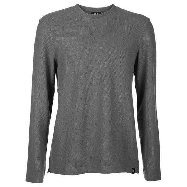 Herren Sweatshirt in schräger Webstruktur