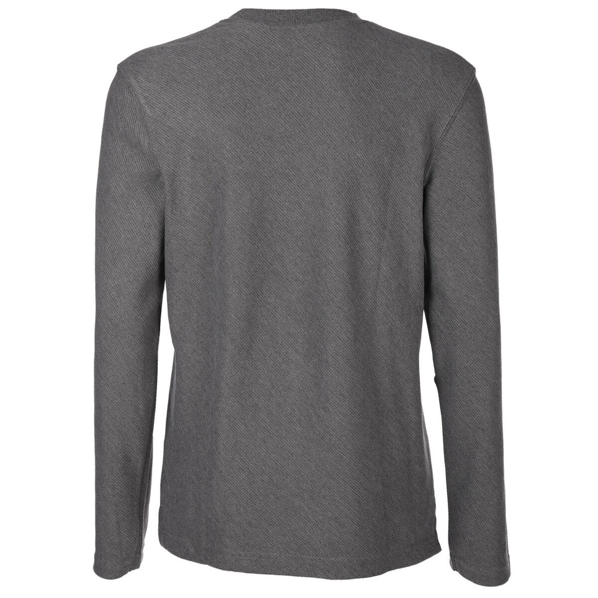 Bild 2 von Herren Sweatshirt in schräger Webstruktur