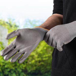 """Kraft Werkzeuge Arbeitshandschuhe """"M-Flex"""", Größe 8 - Grau"""