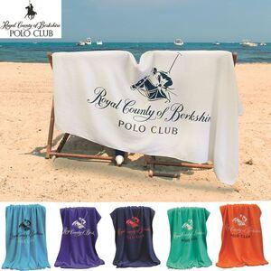 Polo Club Velours-Strandtuch 90x180cm
