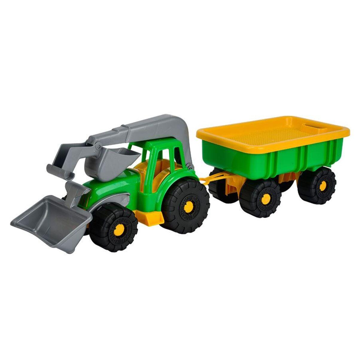 Bild 2 von Simba Spielzeug-Traktor mit Schaufel und Anhänger