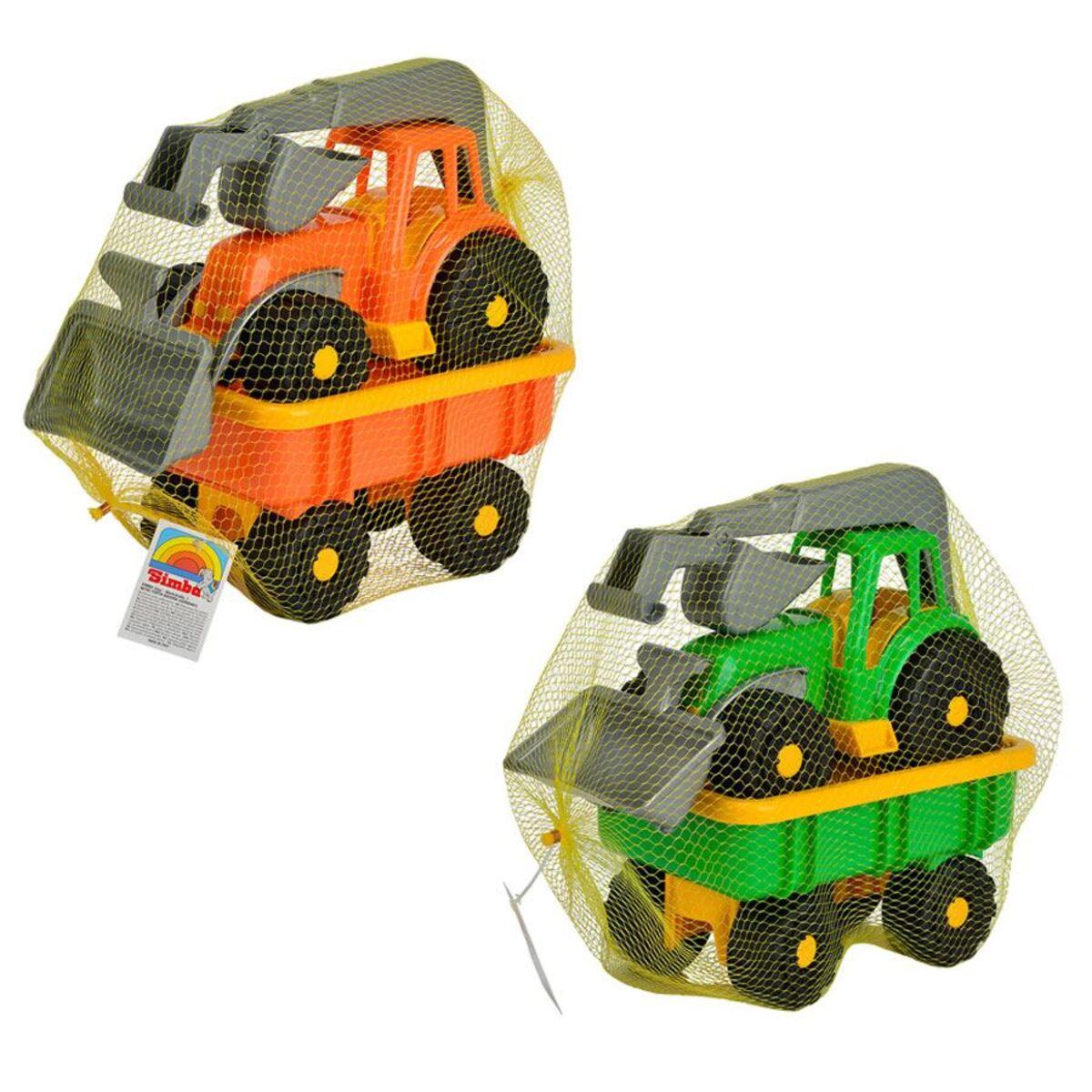 Bild 3 von Simba Spielzeug-Traktor mit Schaufel und Anhänger