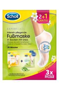 Scholl Intensiv pflegende Fußmaske Promopack 2+1 Sommer Edition 2021