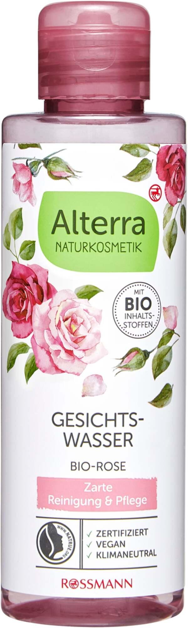 Alterra NATURKOSMETIK Gesichtswasser Bio-Rose