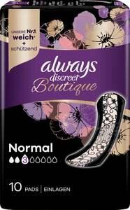 Always discreet Boutique Inkontinenz-Einlagen Normal