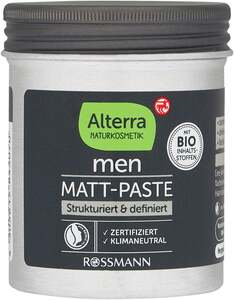 Alterra NATURKOSMETIK Men Matt-Paste