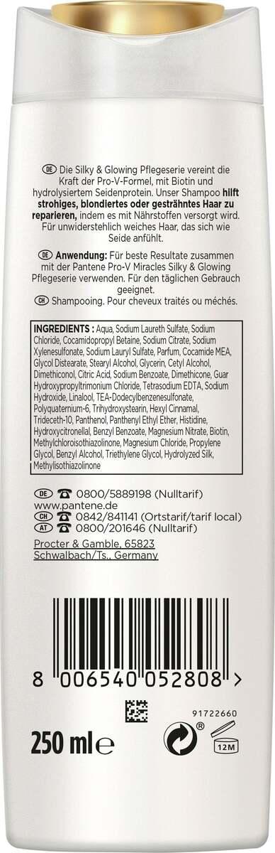 Bild 2 von Pantene Pro-V Miracles Silky & Glowing Haarshampoo