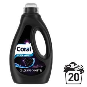 Coral Black Velvet Flüssigwaschmittel 20 WL