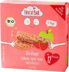 FruchtBar Bio-Riegel Erdbeere-Apfel-Hafer