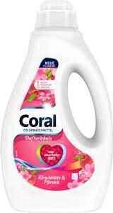 Coral Kirschblüte & Pfirsich Flüssigwaschmittel 20 WL