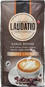 LAUDATIO KAFFEEGENUSS Ganze Bohne Caffè Crema