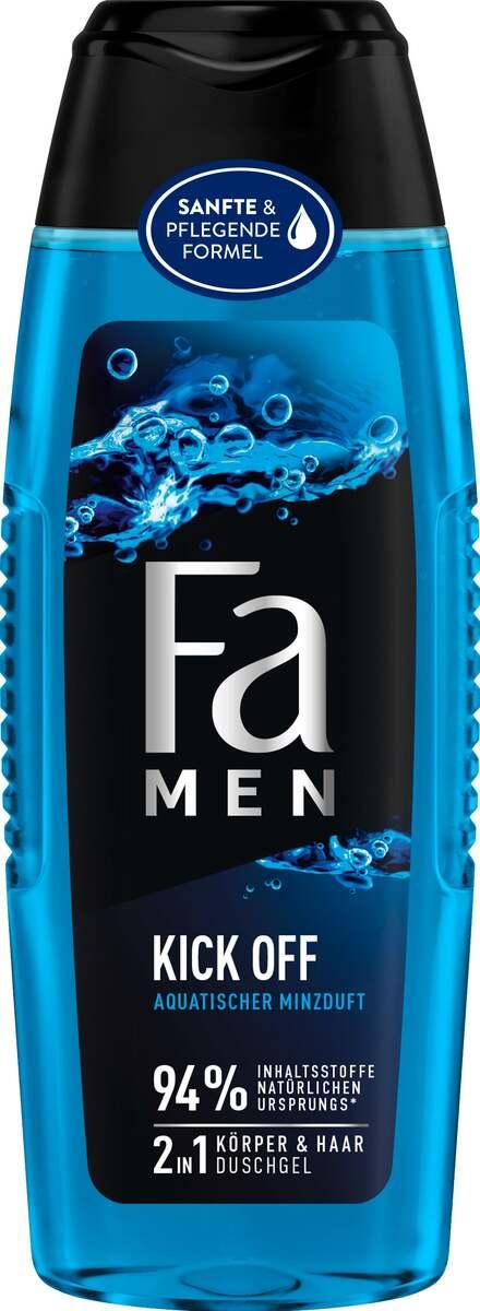 Bild 1 von Fa Men 2in1 Körper & Haar Duschgel Kick Off