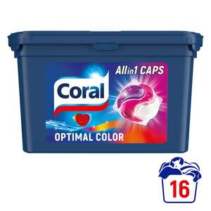 Coral Optimal Color Allin1 Waschmittel Caps 16 WL
