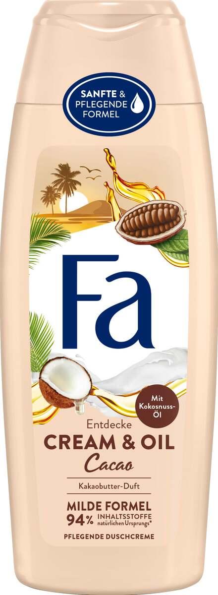 Bild 1 von Fa Pflegende Duschcreme Cream & Oil Cacao