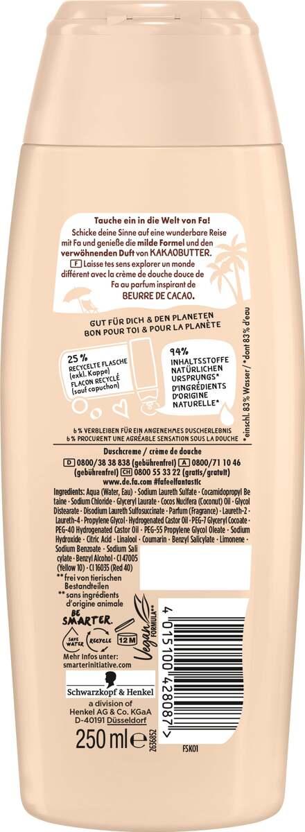 Bild 2 von Fa Pflegende Duschcreme Cream & Oil Cacao