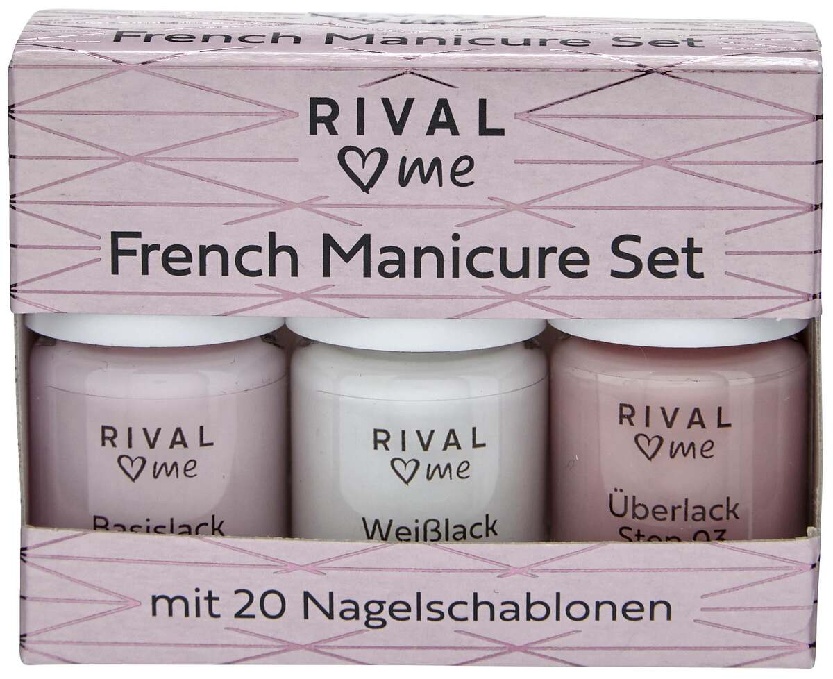 Bild 1 von RIVAL loves me French Manicure Set