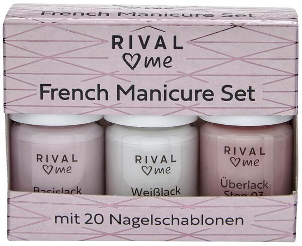 RIVAL loves me French Manicure Set