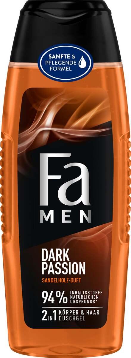 Bild 1 von Fa Men 2in1 Körper & Haar Duschgel Dark Passion
