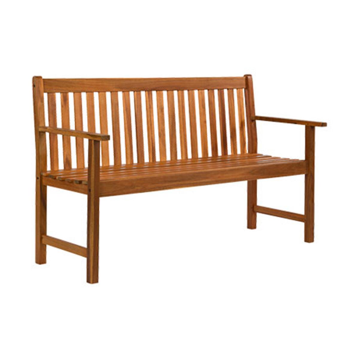 Bild 3 von Holzbank, 3-Sitzer1