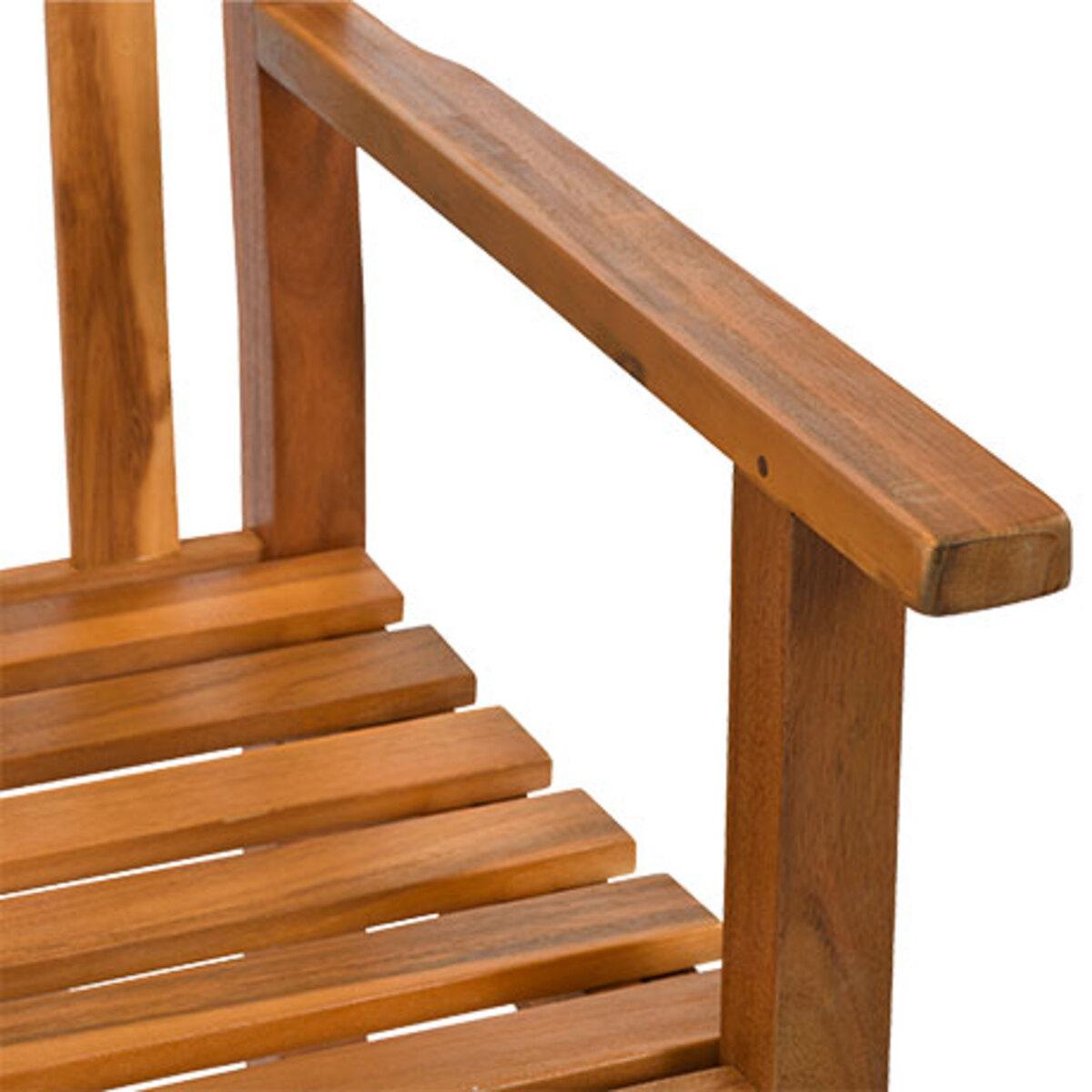 Bild 5 von Holzbank, 3-Sitzer1