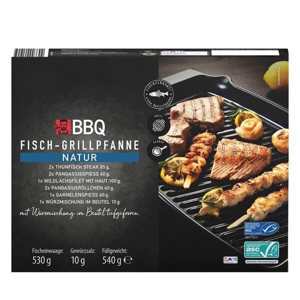 BBQ Fisch-Grillpfanne 540 g