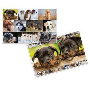 Wende-Schreibtischauflage - Hunde - ca. 55 x 35 cm