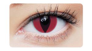 Farbige Kontaktlinsen Red Cat Monatslinsen Sphärisch 2 Stück unisex