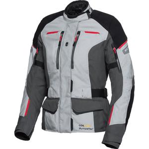 FLM Touren Damen Leder-/Textiljacke 4.0 grau Größe XS