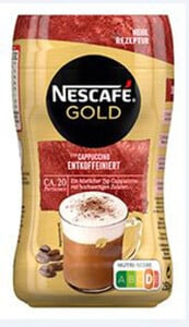 Nescafé Gold Typ Cappuccino Entkoffeiniert 250G