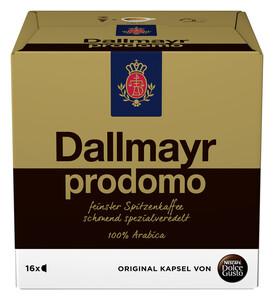 Nescafé Dolce Gusto Dallmayr Prodomo Kapseln 16ST 112G
