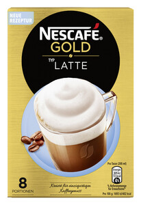 Nescafé Gold Typ Latte 8x 18 g