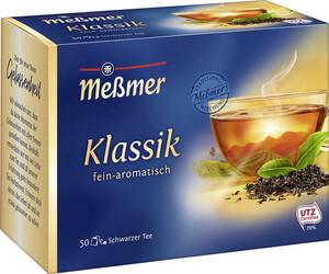 Meßmer Tee Klassik Schwarztee 50ST 87,5G