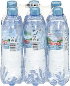 Vitrex Mineralwasser sanft perlend PET 6x 500 ml