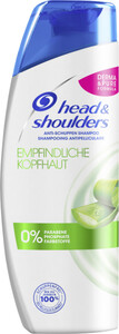 head & shoulders Anti-Schuppen Shampoo 0,3 ltr