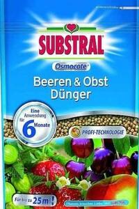 Substral Osmocote Beeren & Obst Dünger ,  750 g
