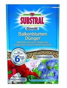 Substral Osmocote Balkonblumen-Dünger ,  750 g