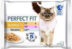 Perfect Fit Sensitive 1+ 4x85g