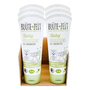 BLÜTE-ZEIT BABY Pflegecreme Bio-Lindenblüte 75 ml, 6er Pack